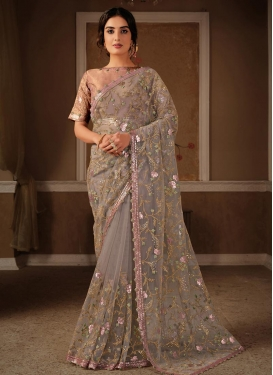 Net Designer Traditional Saree