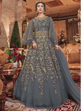 Net Embroidered Work Trendy Designer Salwar Suit