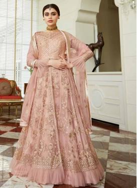 Net Floor Length Designer Salwar Suit For Festival