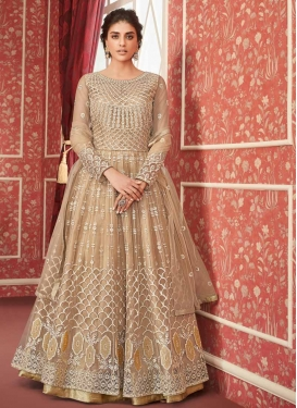 Net Floor Length Designer Salwar Suit For Party