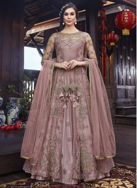 Net Jacket Style Long Length Suit