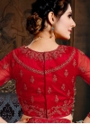 Net Lace Red Lehenga Choli - 2