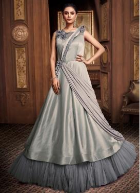 Net Layered Designer Gown For Festival