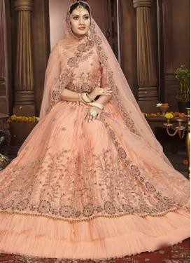 Net Layered Designer Lehenga Choli