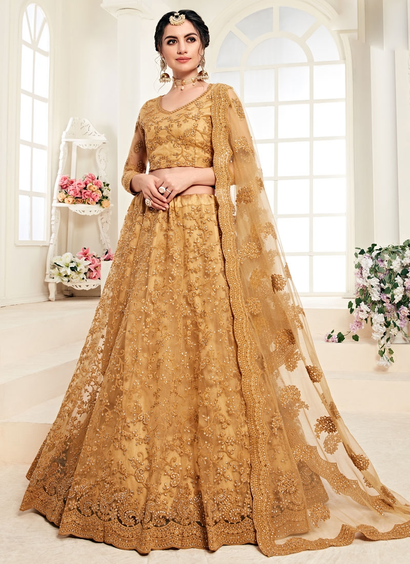 Shop Net Lehenga Choli Online In Uk