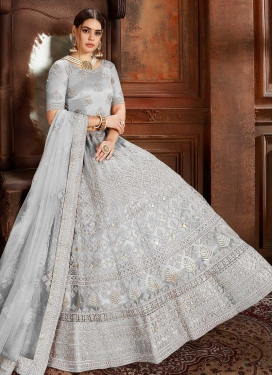 Net Lehenga Choli For Festival