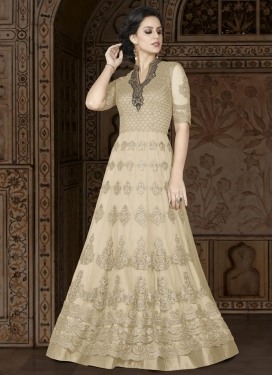 Net Long Length Anarkali Salwar Suit For Party