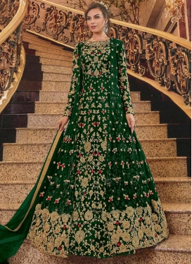Net Long Length Designer Anarkali Suit