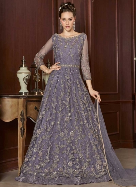 Net Long Length Designer Suit