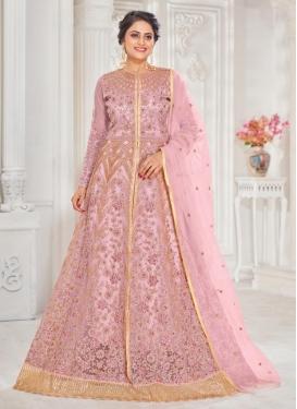 Net Long Length Designer Suit