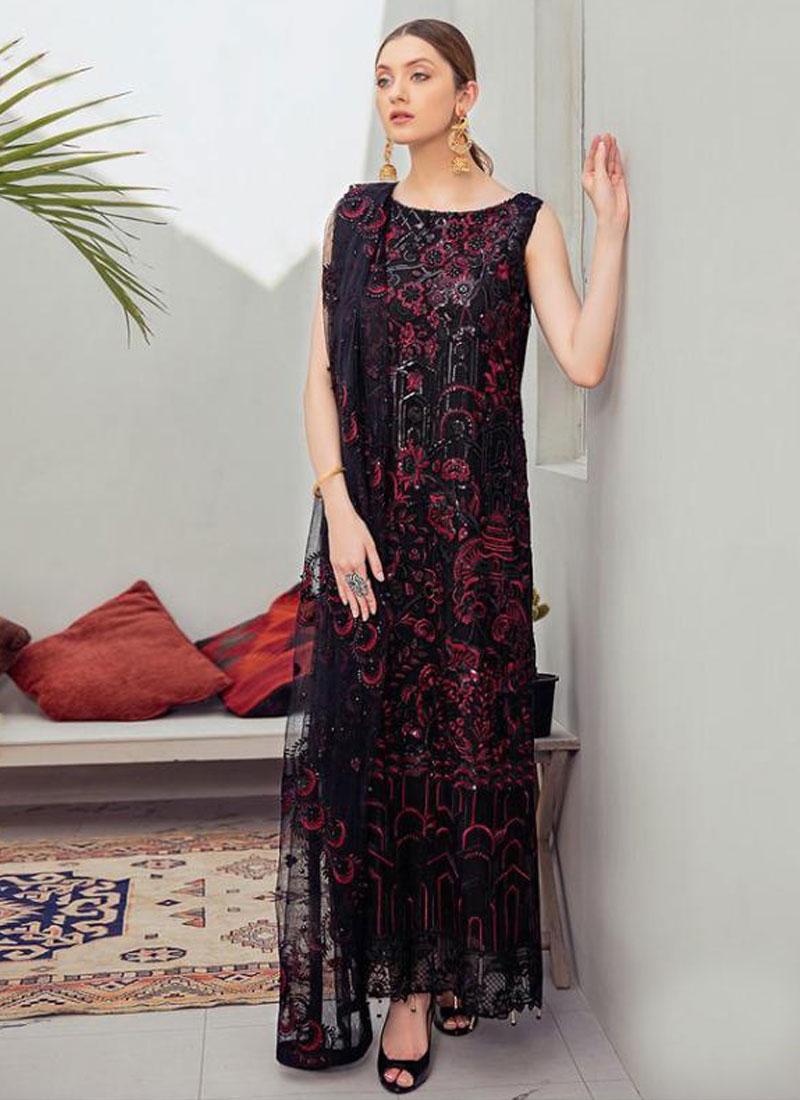 Net Long Length Pakistani Salwar Suit