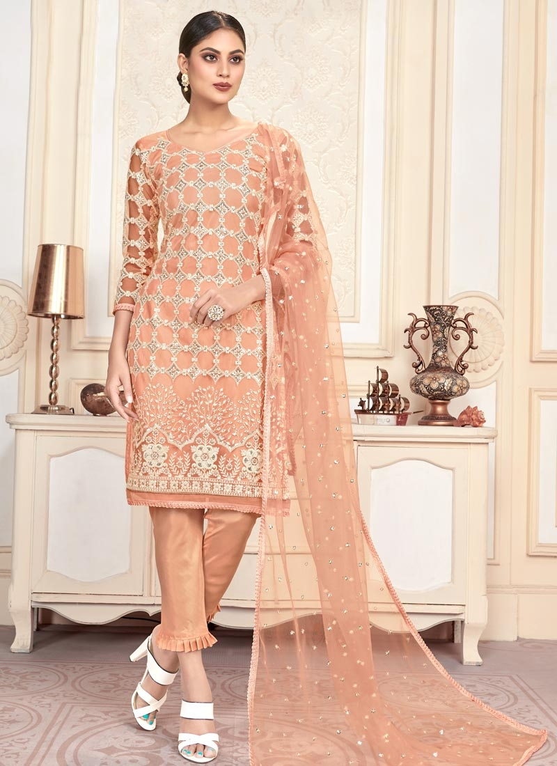 Net Pant Style Classic Salwar Suit