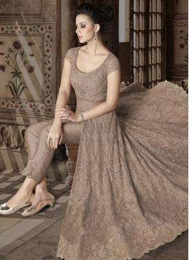 Net Pant Style Designer Salwar Kameez For Festival