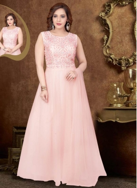 Net  Readymade Anarkali Suit