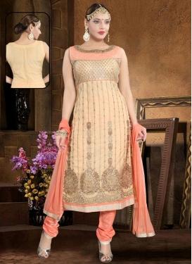 Net Readymade Churidar Salwar Suit