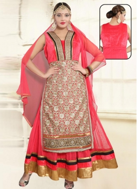 Net Readymade Classic Gown For Ceremonial