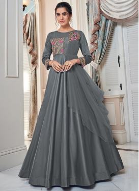 Net Readymade Classic Gown For Festival