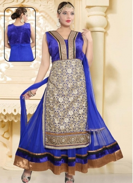 Net Readymade Trendy Gown