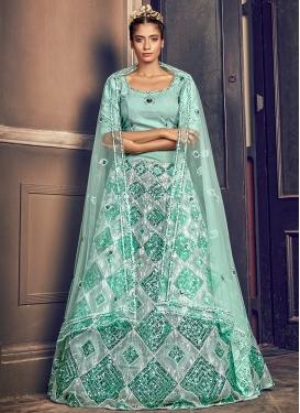Net Resham Work Trendy Designer Lehenga Choli