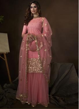 Net Sharara Salwar Kameez