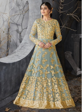 Net Trendy Anarkali Salwar Suit