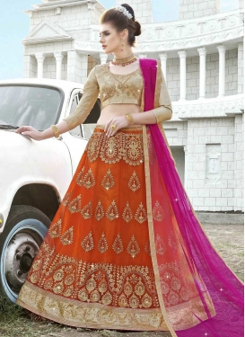 Net Trendy Designer Lehenga Choli