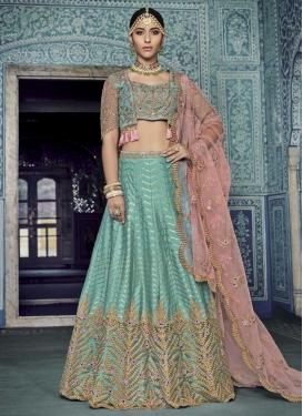 Net Trendy Designer Lehenga Choli For Bridal