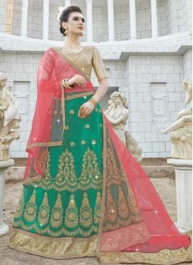 Net Trendy Lehenga Choli For Ceremonial