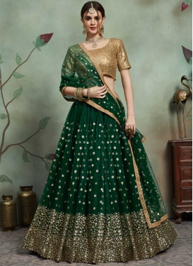 Net Trendy Lehenga For Ceremonial