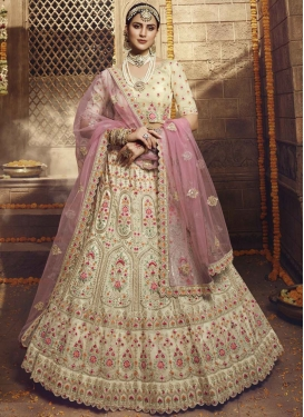 Organza A - Line Lehenga For Party