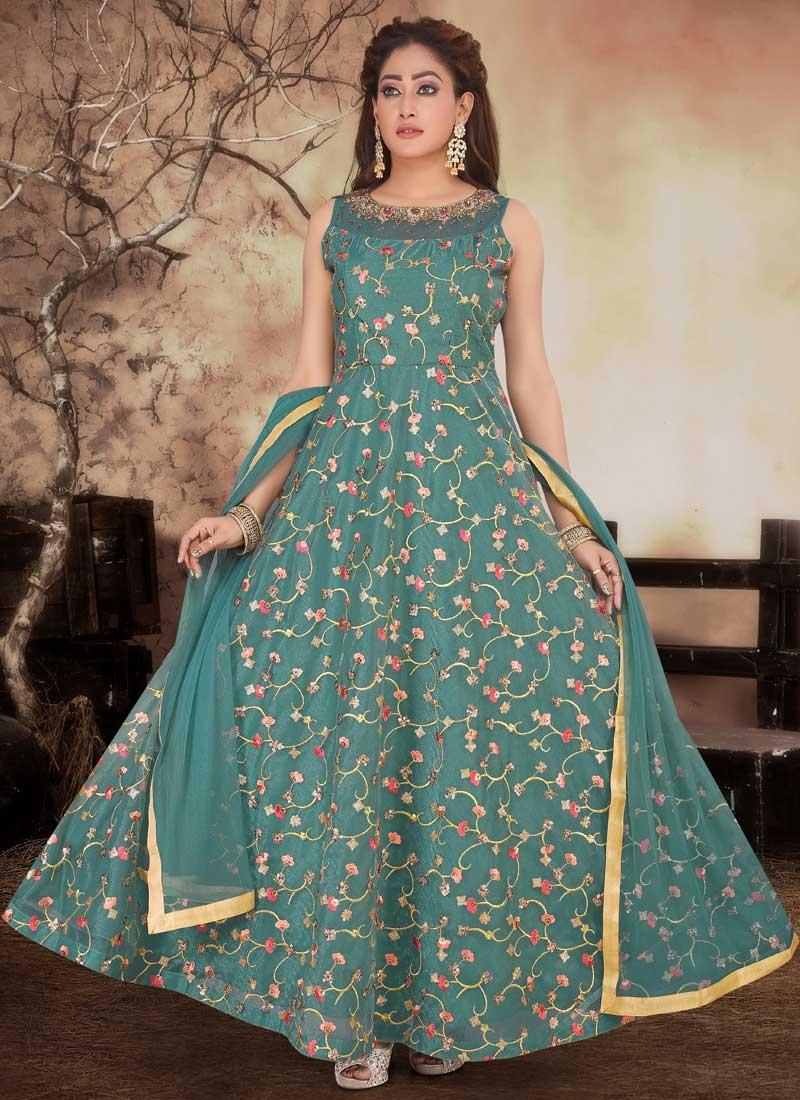Organza Readymade Designer Salwar Suit