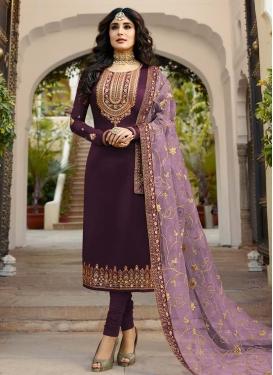 Pakistani Straight Salwar Suit