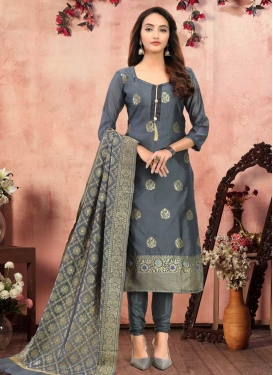 Pakistani Straight Salwar Suit For Casual