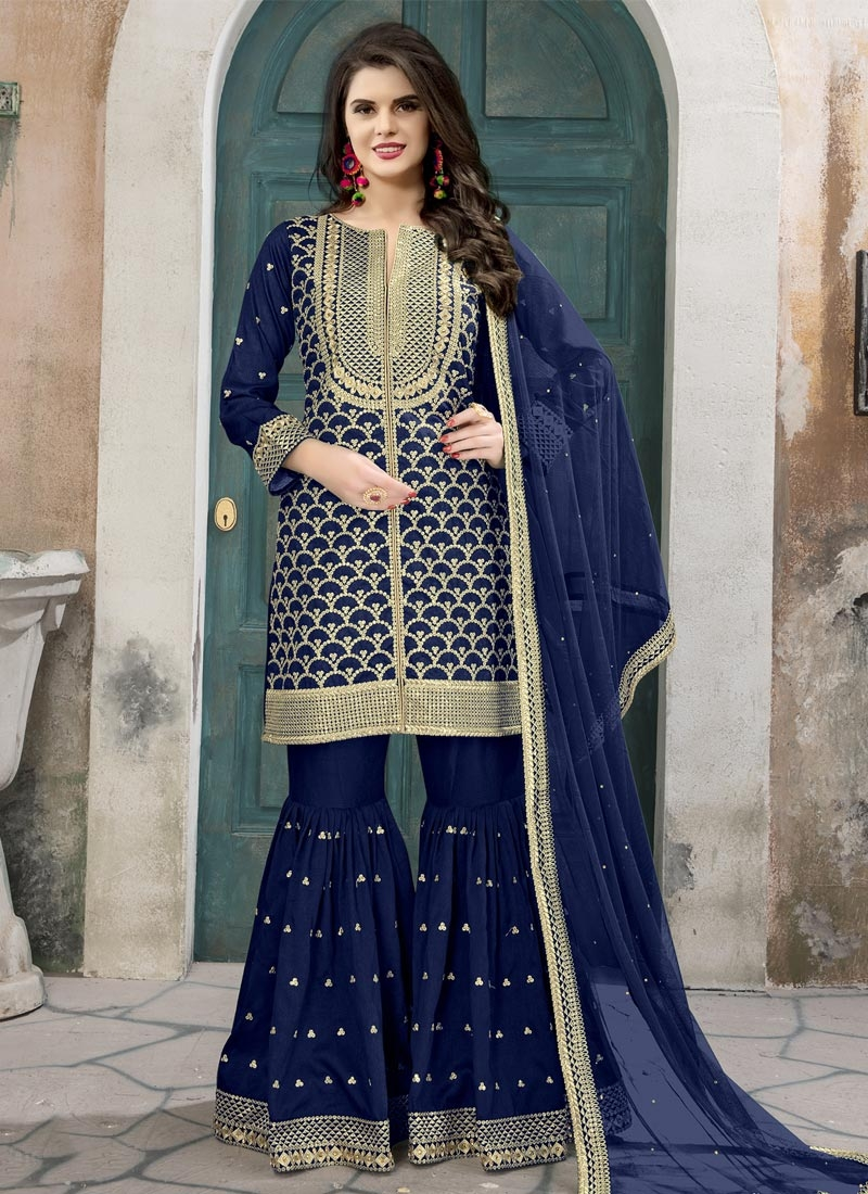 Palazzo Designer Salwar Suit