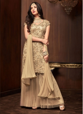 Palazzo Straight Salwar Kameez For Party