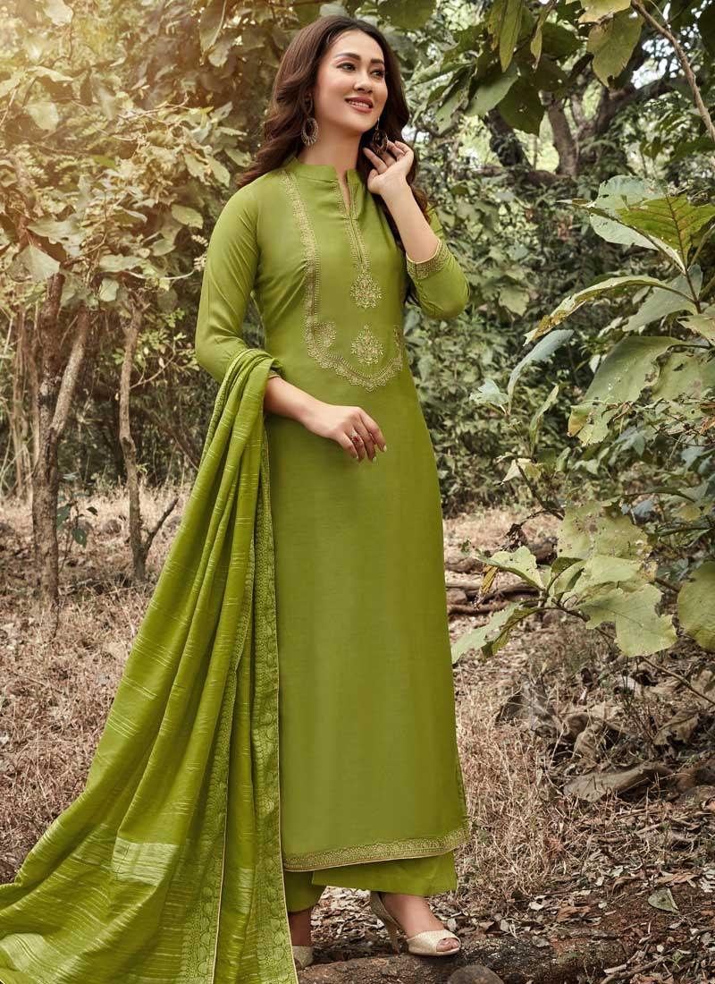 Palazzo Style Pakistani Salwar Suit