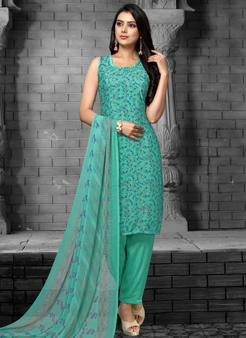 Pant Style Classic Salwar Suit For Casual