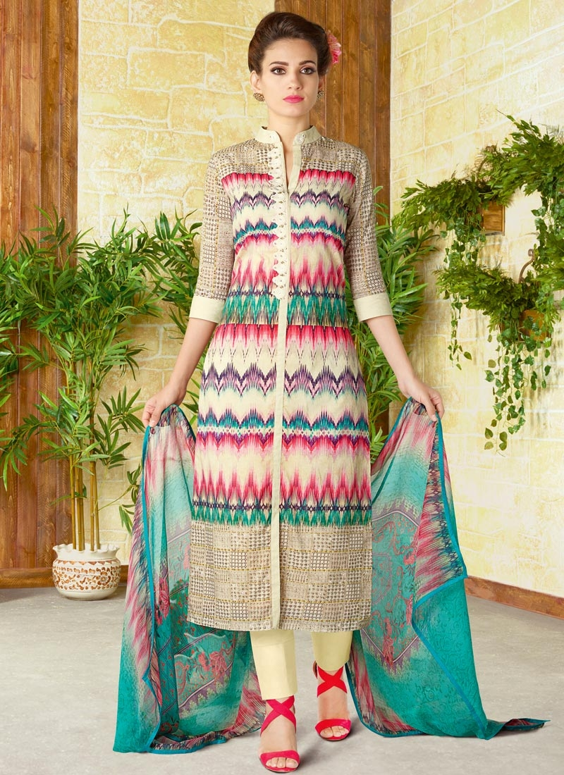 Pant Style Designer Salwar Suit For Festival