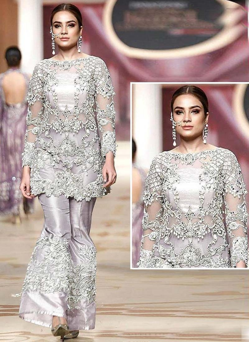 Pant Style Designer Suit For Ceremonial