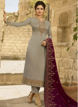 Pant Style Designer Suit For Festival