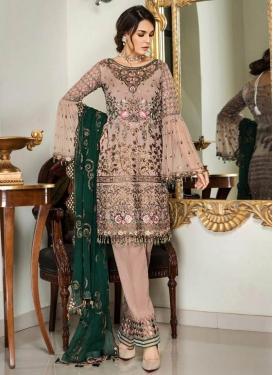 Pant Style Pakistani Salwar Kameez For Festival