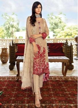 Pant Style Pakistani Salwar Suit For Festival