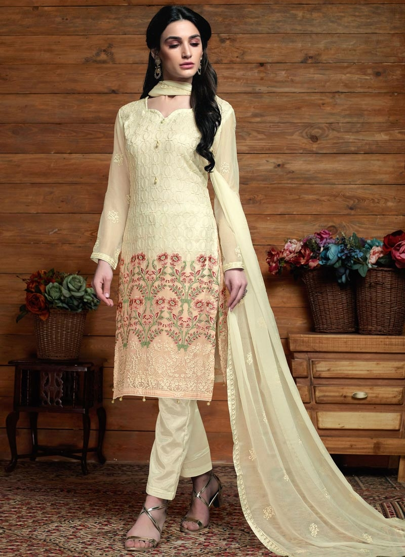 Pant Style Pakistani Suit