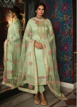 Pant Style Pakistani Suit For Festival