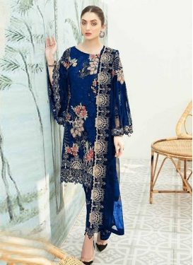 Pant Style Salwar Suit For Festival