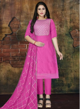 Pant Style Straight Salwar Kameez For Casual