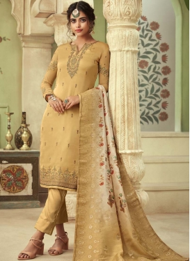 Pant Style Straight Suit For Ceremonial