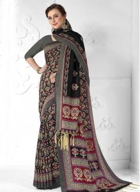 Pasmina Designer Contemporary Style Saree