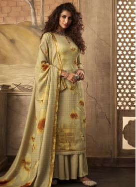 Pasmina Palazzo Style Pakistani Salwar Suit For Ceremonial