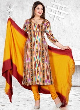 Pasmina Trendy Churidar Salwar Kameez For Casual